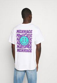 Mennace - UNISEX MENNACE TWISTED  - T-shirt med print - white - 2