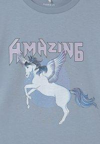Name it - NKFDINARA  - T-shirts print - blue - 2