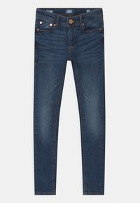 Jack & Jones Junior - JJIDAN JJORIGINAL SUPER SKINNY - Jeans Skinny Fit - blue denim - 0