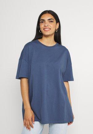 ONLMAYA LIFE OVERSIZE - T-shirts - vintage indigo