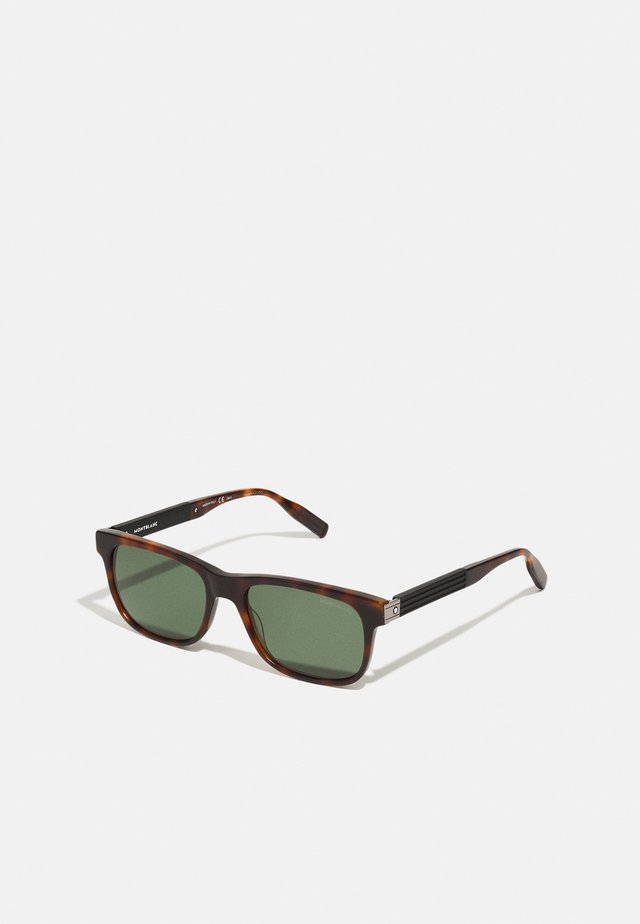 UNISEX - Sunglasses - havana/green
