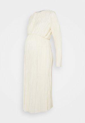 LONG SLEEVE DAY DRESS - Denní šaty - cream