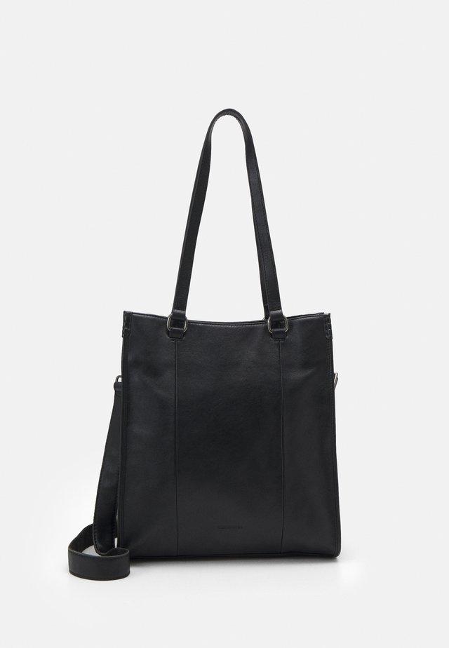 FERN - Shoppingveske - black
