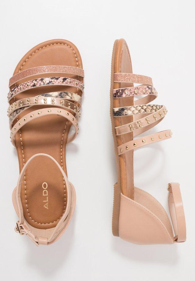 THAYSSA - Sandals - medium beige