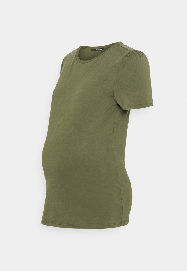 TEE - T-shirt basique - olive night