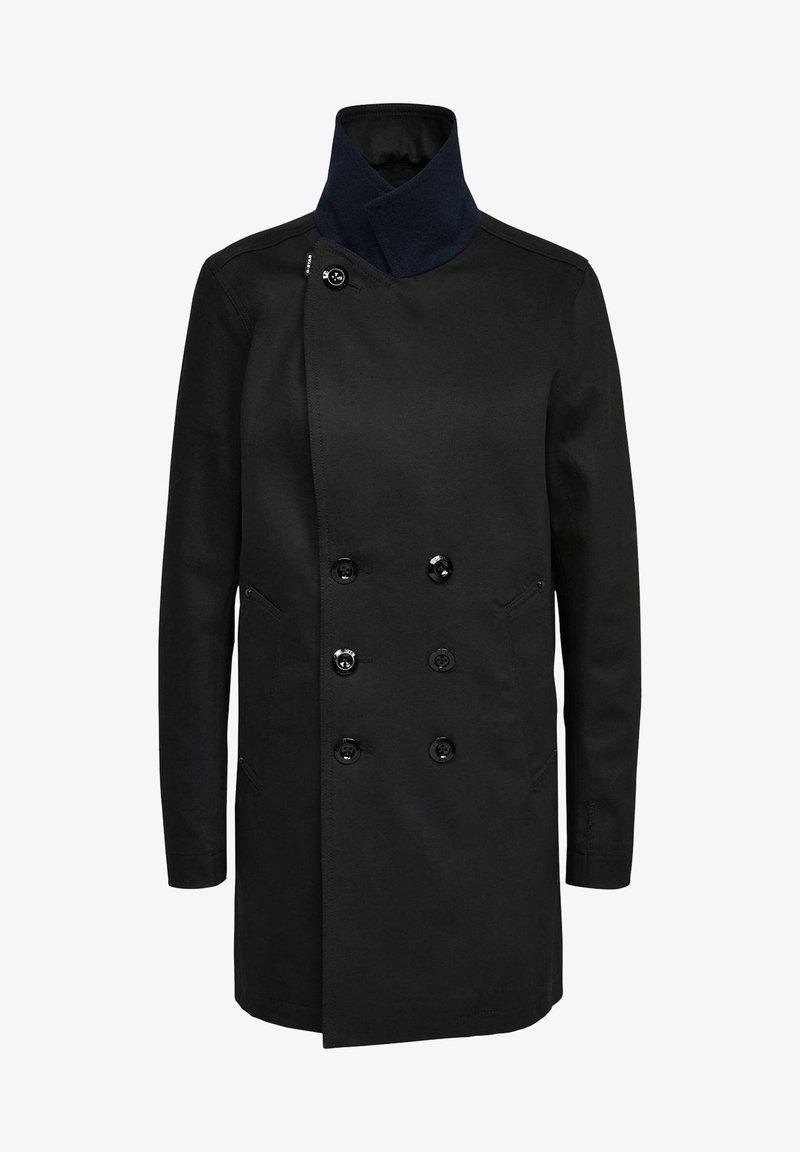 G-Star - LINED DENIM - Short coat - pitch black