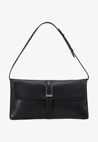 Calvin Klein - WINGED SHOULDER BAG - Käsilaukku - black - 5