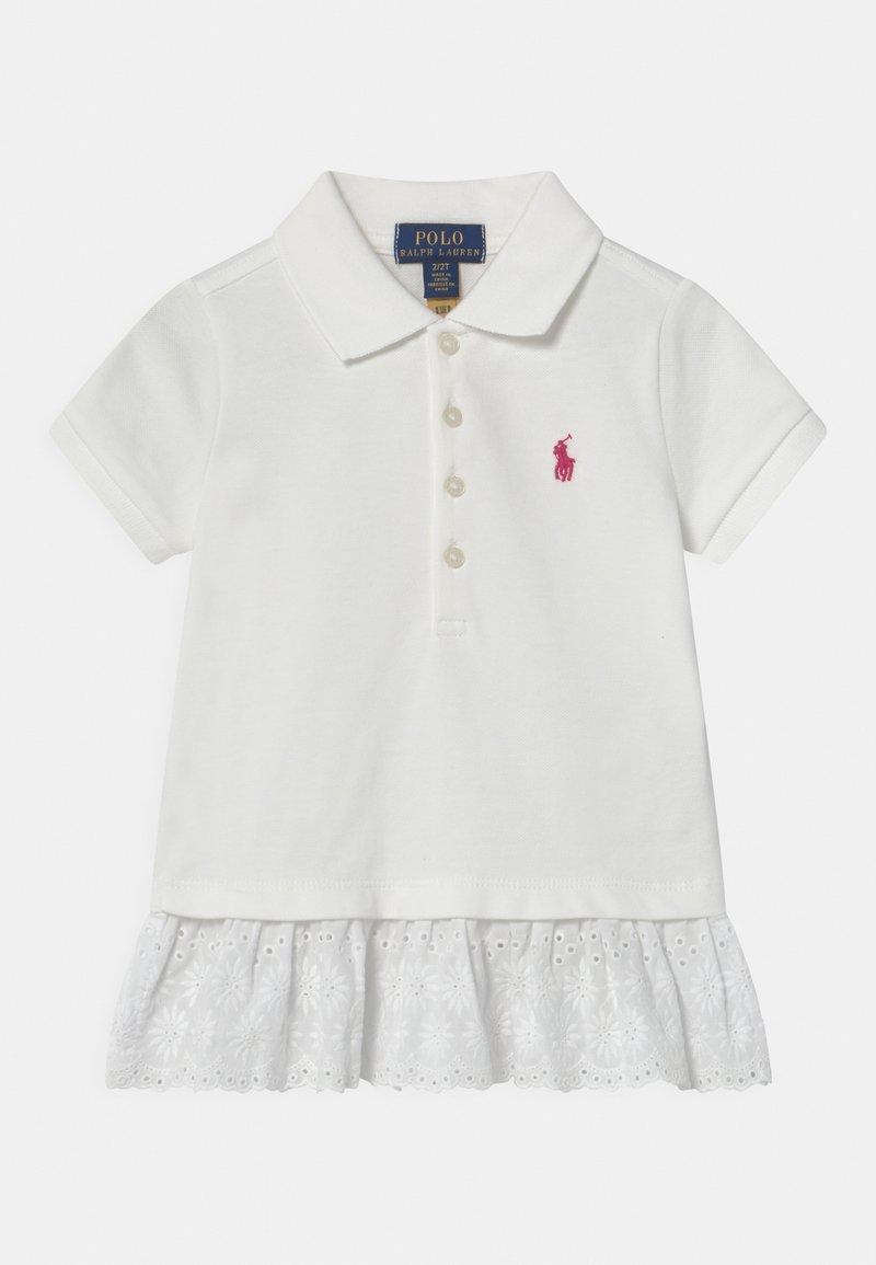 Polo Ralph Lauren - EYELET - Polotričko - white/accent pink