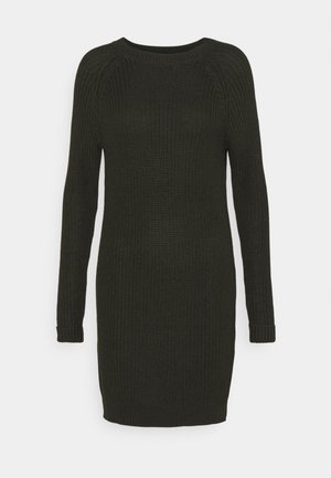 NMSIESTA O NECK DRESS PETITE - Jumper dress - rosin