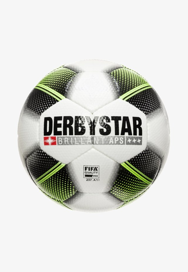 BRILLANT APS FUTURE MATCHBALL - Calcio - white/neon yellow/black