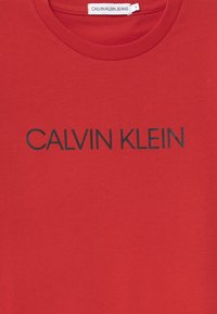 Calvin Klein Jeans - INSTITUTIONAL - T-shirt print - red - 2
