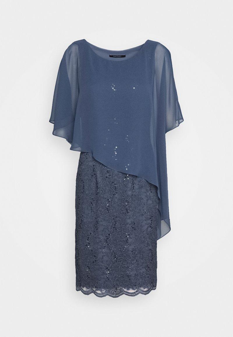 FACELIFT - Cocktailkleid/festliches Kleid - rauchblau