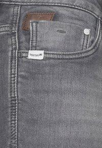 TOM TAILOR - JOSH - Jeansshort - clean light stone grey denim - 2