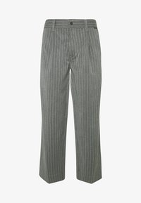 Afends - MIXED BUSINESS  SUIT PANT - Kalhoty - grey - 4