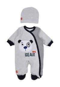 Leo - BABY SET BEAR 4 PACK - Kruippakje - grau/blau - 2
