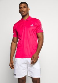 adidas Performance - CLUB SPORTS SHORT SLEEVE  - Sports shirt - power pink - 0