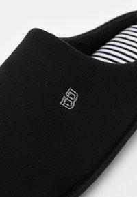 Burton Menswear London - BORG MULE - Kapcie - black - 5
