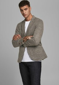 Jack & Jones PREMIUM - Blazer jacket - dark earth - 0