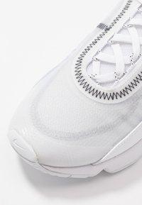 Nike Sportswear - AIR MAX 2090 - Trainers - white/wolf grey/black - 2