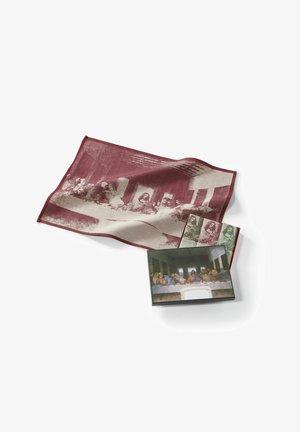 3ER PACK LEONARDO DA VINCI - DAS LETZTE ABENDMAHL - Overige accessoires - moss green - merlot red - espresso brown