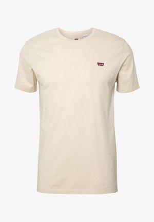 THE ORIGINAL TEE - Camiseta estampada - beige