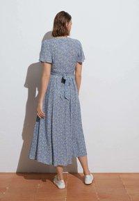 OYSHO - Shirt dress - blue - 1