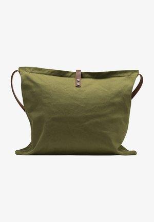 DREIMASTER SHOPPER - Velká kabelka - oliv braun