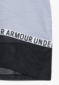 Under Armour - CHARGED TAPED - T-shirt z nadrukiem - purple dusk/black - 4