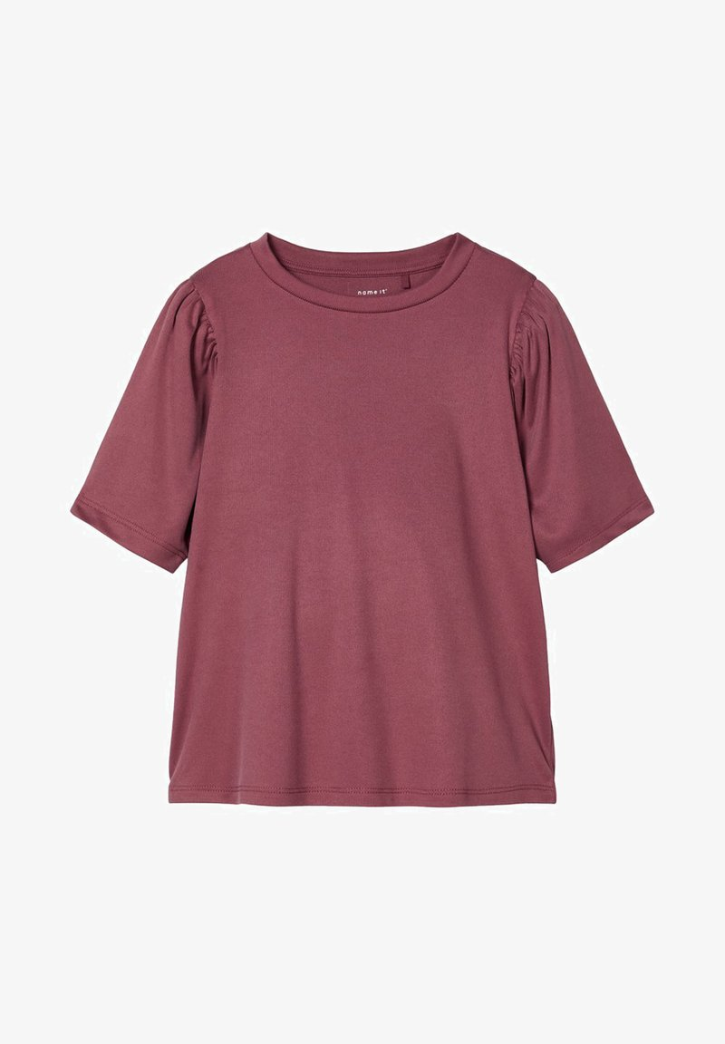 Name it - Basic T-shirt - wild ginger