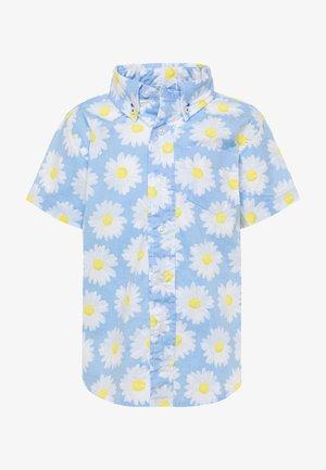 DAISY - Shirt - light blue/white