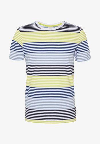 JCOARAF TEE CREW NECK - Camiseta estampada - sulphur spring