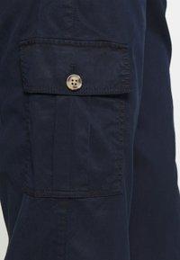 Marks & Spencer London - ULTIMATE - Cargo trousers - dark blue - 4