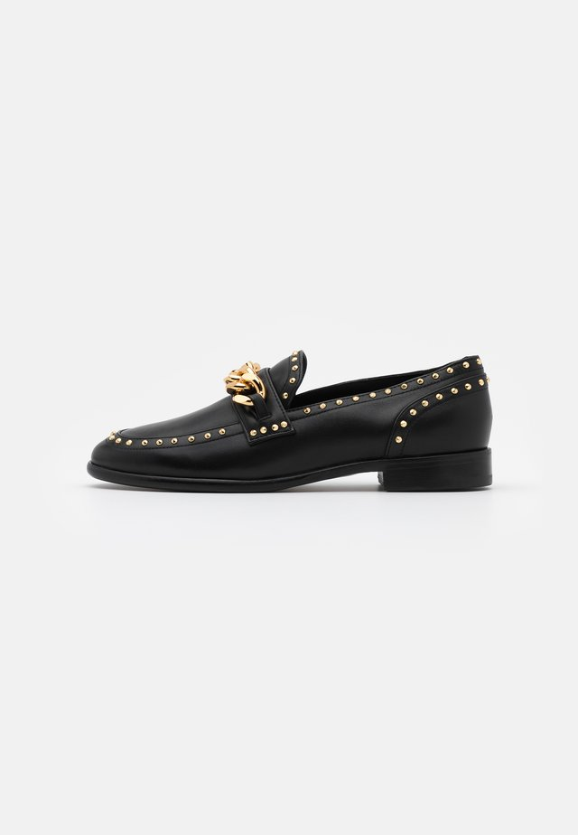 Loaferit/pistokkaat - fulgor nero
