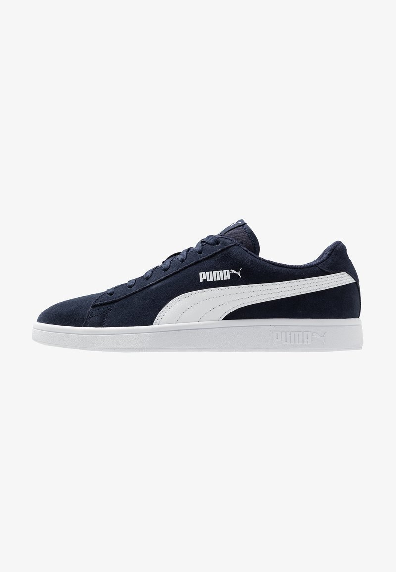 Puma - SMASH V2  - Sneaker low - peacoat/white