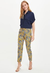 DeFacto - Trousers - yellow - 3
