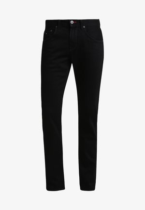 DENTON - Jeans a sigaretta - clean black