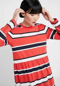 Libertine-Libertine - ZINK - Jersey dress - red stripe - 4