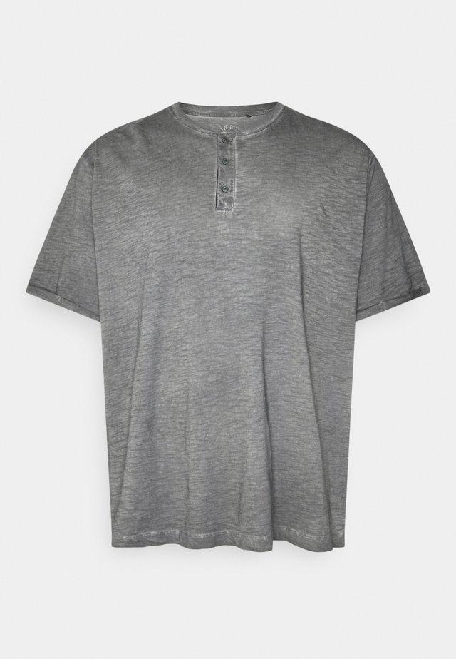 KURZARM - T-shirt con stampa - grey