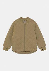 Wheat - THERMO LOUI UNISEX - Waterproof jacket - slate green - 0