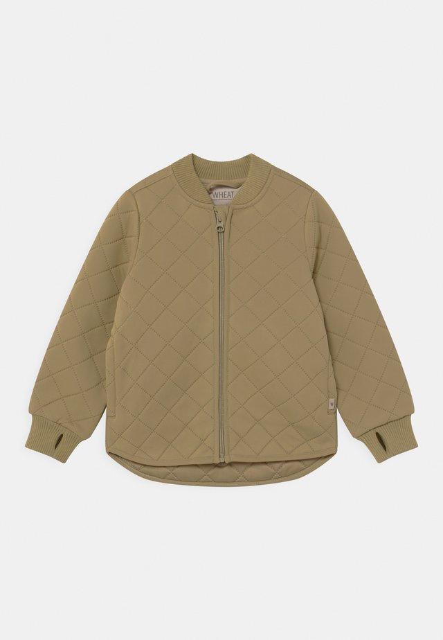 THERMO LOUI UNISEX - Waterproof jacket - slate green