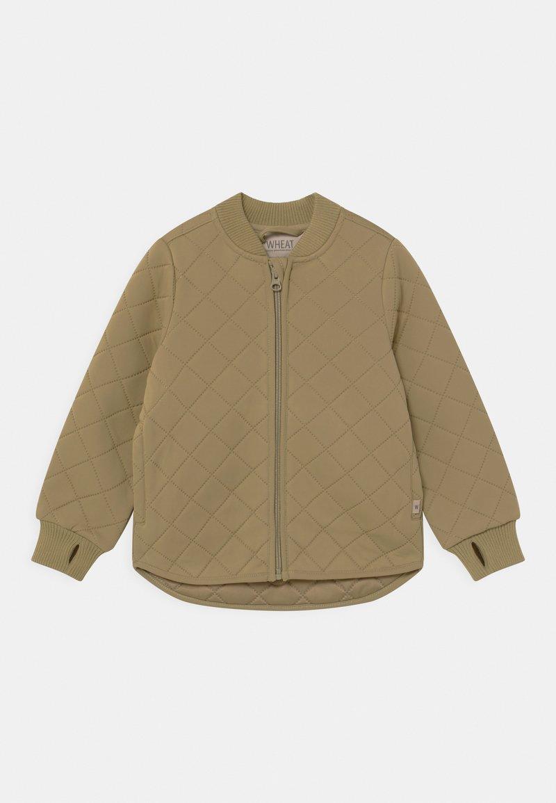 Wheat - THERMO LOUI UNISEX - Waterproof jacket - slate green