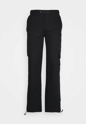 UTILITY PANT - Cargo trousers - black
