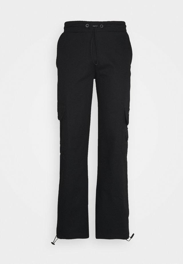UTILITY PANT - Pantalones cargo - black