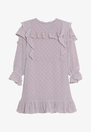 ABBIE RUFFLE DRESS - Sukienka koktajlowa - lilac