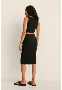 NA-KD - Pencil skirt - black - 2