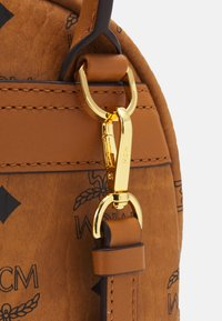 MCM - STARK BACKPACK MINI - Sports bag - cognac - 3