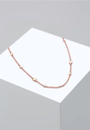 Necklace - roségold-coloured