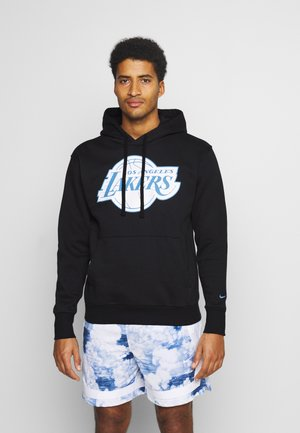 NBA LOS ANGELES LAKERS CITY EDITION ESSENTIAL HOODIE - Club wear - black