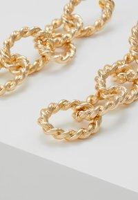 Topshop - ROPE LINK DROP - Oorbellen - gold-coloured - 4