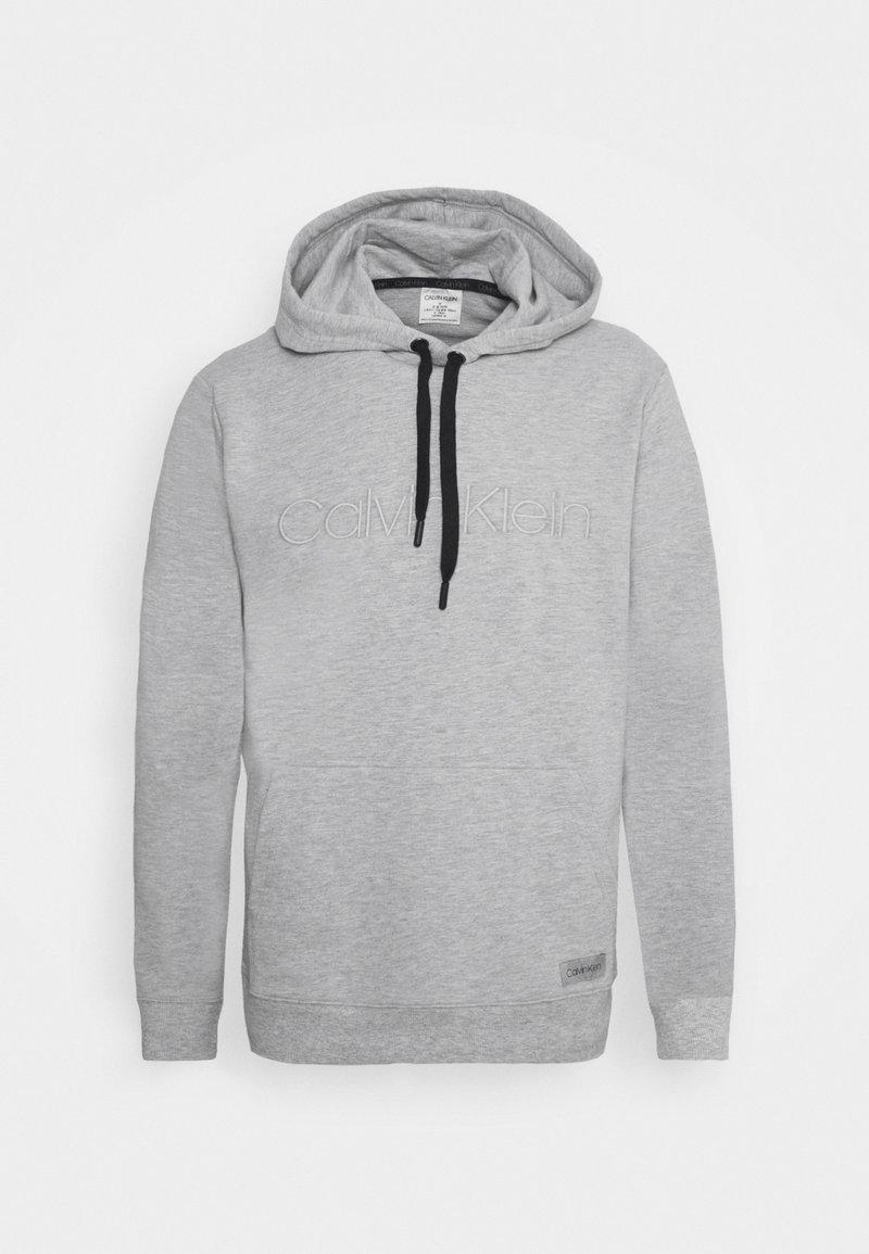 Calvin Klein Underwear - LOUNGE HOODIE - Hoodie - grey